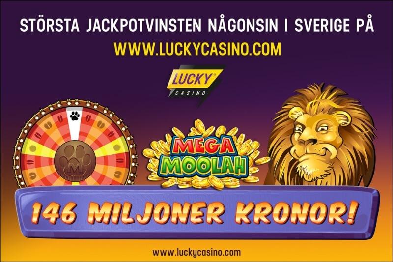 största vinsten någonsin i sverige på ett casino online