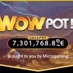 WowPot fyra jackpottar i samma spel