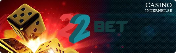 22bet casinobonus
