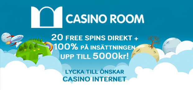 CasinoRoom bonus erbjudande