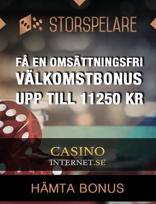 storspelare casino bonus free spins