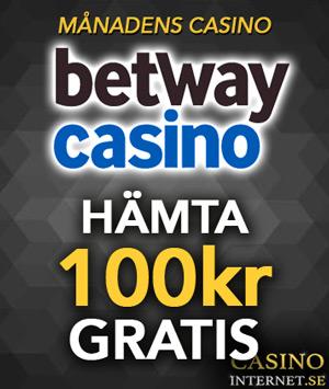 betway casino månadens Casino