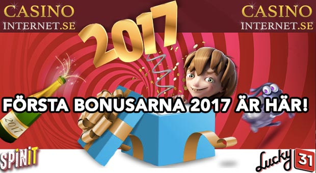 2017 januari bonus spinit lucky 31 casino