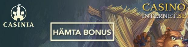 casinia casino bonus free spins