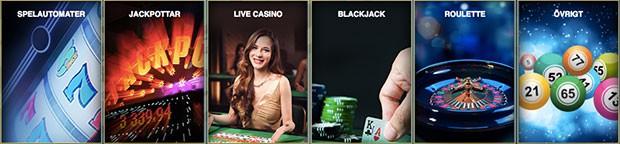 casino sverigekronan casinospelslots spelautomater black jack roulette jackpot