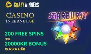 Crazywinners bonus