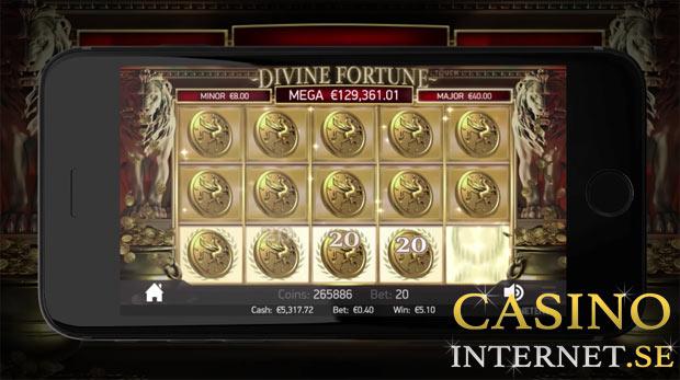 divine fortune jackpot bonus free spins