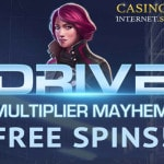 drive multiplier mayhem free spins