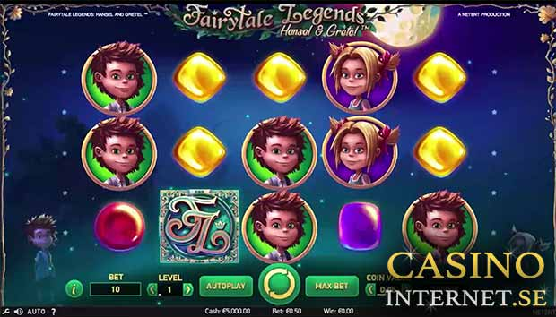 fairytale legends: hansel gretel slot netent