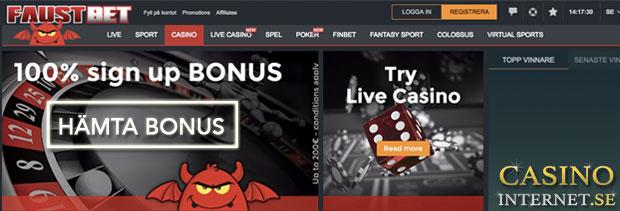 faustbet casino bonus