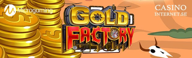 gold factory spelautomat