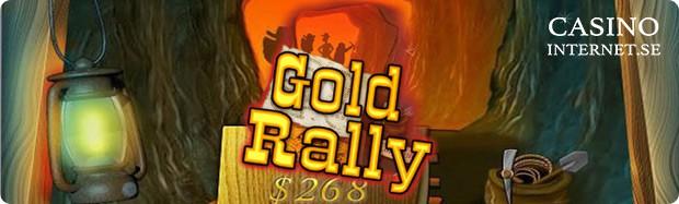 gold rally spelautomat
