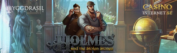 holmes and the stolen stones spelautomat