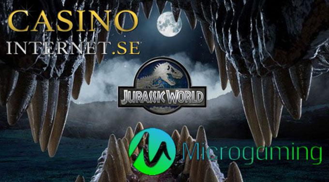jurassic world slot microgaming