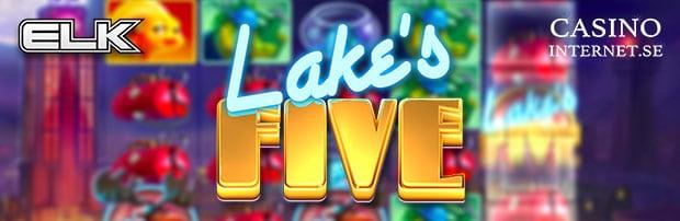 lakes five spelautomat