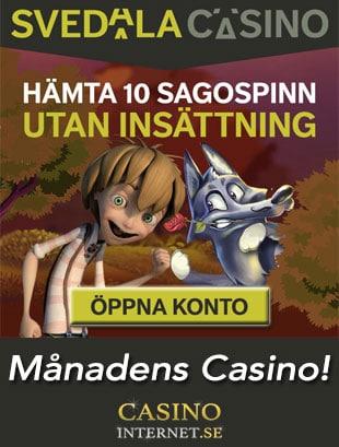 svedala casino månadens Casino