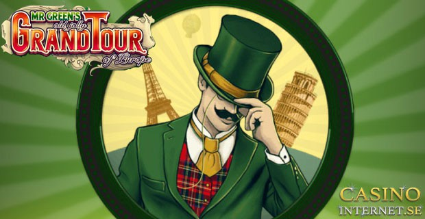 Mr. Green's Old Jolly Grand Tour of Europe Slot