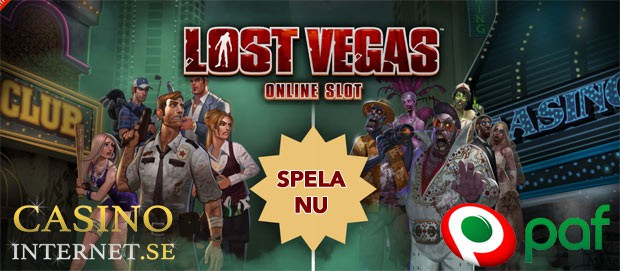 paf lost vegas free spins