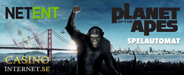 planet of the apes spelautomat slot netent