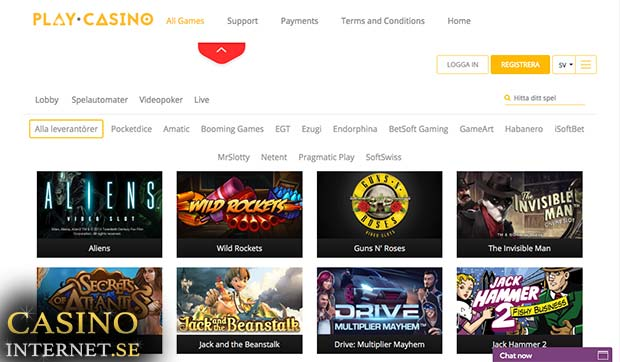 play casino sverige