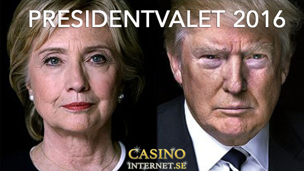 casino betting trump clinton presidentvalet 2016