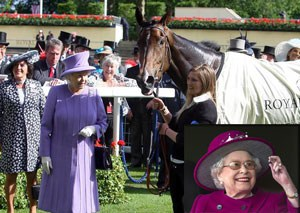 queen elisabeth casino horse