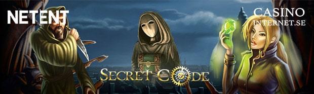 secret code spelautomat