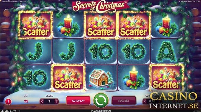 secrets of christmas spelautomat