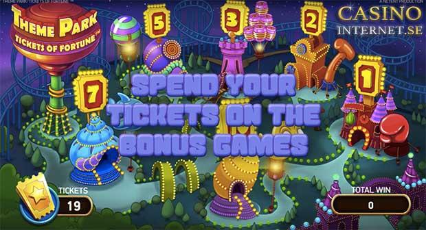 theme park tickets fortune netent online casino bonus
