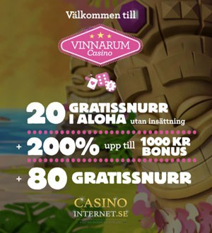 bonus casino internet vinnarum