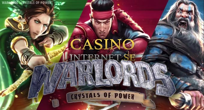 warlords crystals of power spelautomat netent