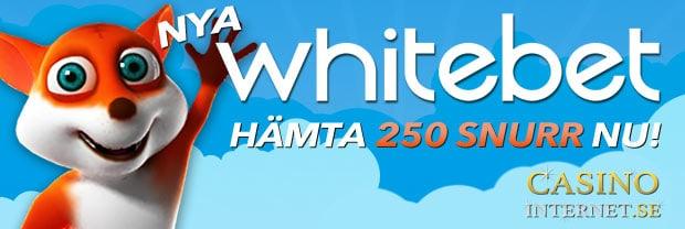 whitebet bonus nya casinon
