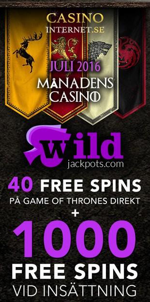 Wild Jackpots Månadens Casino