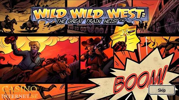 spelautomat wild wild west netent slot