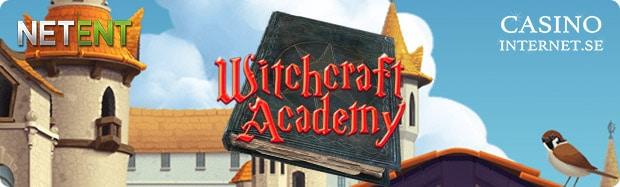 witchcraft academy spelautomat